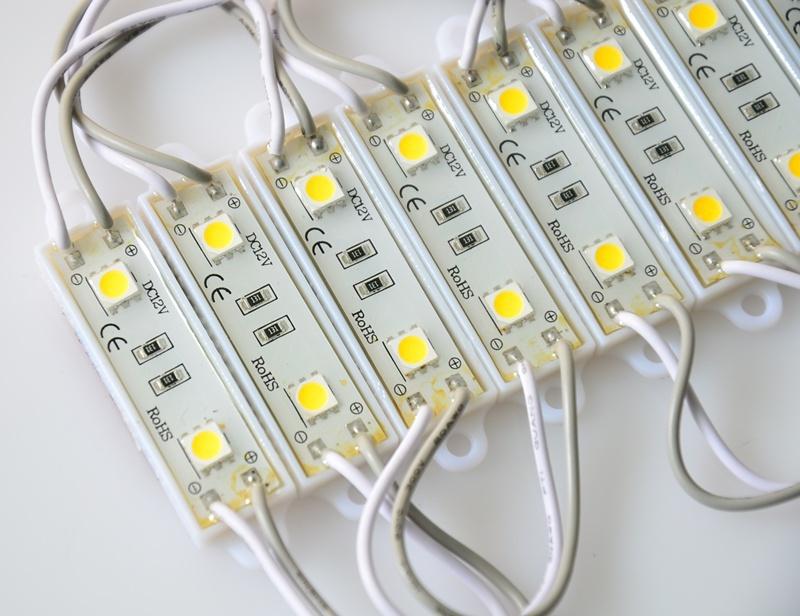 Светильник из светодиодных модулей